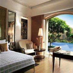 Отель Trident, Gurgaon 5* Номер Делюкс с двуспальной кроватью фото 6
