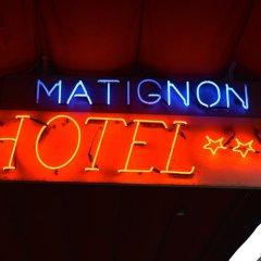 Отель MATIGNON Брюссель развлечения