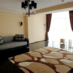 Mark Plaza Hotel 2* Улучшенные апартаменты разные типы кроватей фото 8