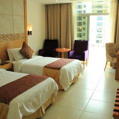 Отель Sanya Jinglilai Resort 5* Стандартный номер с различными типами кроватей фото 5