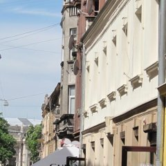 Апартаменты в центре Львова Львов балкон