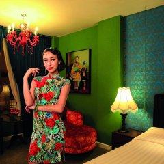 Shanghai Mansion Bangkok Hotel 4* Номер Делюкс с различными типами кроватей фото 4