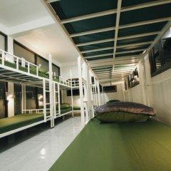 Euro Asia Hostel Кровать в общем номере с двухъярусной кроватью фото 13