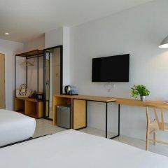 Отель Ruenthip Residence Pattaya 4* Улучшенный номер с различными типами кроватей фото 9