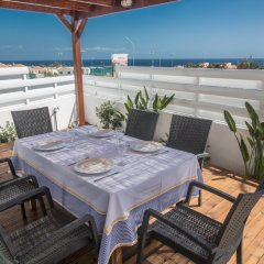 Отель Narcissos Bay View Villa Кипр, Протарас - отзывы, цены и фото номеров - забронировать отель Narcissos Bay View Villa онлайн балкон