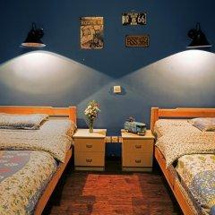 Chengdu Steam Hostel Стандартный номер с 2 отдельными кроватями фото 2