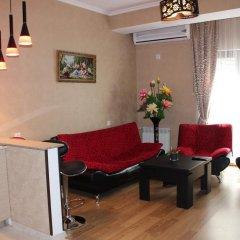 Отель Qeroli Appartment in the center in Avlabari Апартаменты с различными типами кроватей фото 15