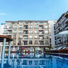 Отель in Dawn Park Aparthotel Болгария, Солнечный берег - отзывы, цены и фото номеров - забронировать отель in Dawn Park Aparthotel онлайн бассейн фото 3