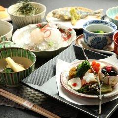 Отель Marucho Ryokan Минамиогуни питание фото 2