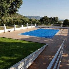 Отель Casa Rural Cabeza Alta Алькаудете спортивное сооружение
