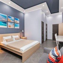 Мини-Отель Брусника Полежаевская Стандартный номер с различными типами кроватей фото 7