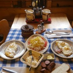 Отель Camping Harenda Pokoje Gościnne i Domki Закопане питание фото 3
