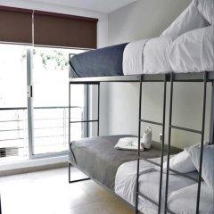 Отель Hostal Be Condesa Кровать в общем номере фото 9