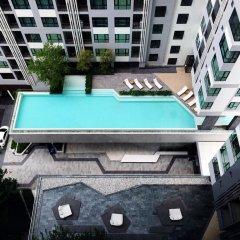 Отель The Base Pattaya by Smart Delight Паттайя бассейн