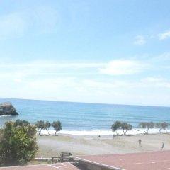 Отель Preveli Rooms пляж