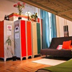 Hostel Budapest Center Стандартный номер с двуспальной кроватью фото 2