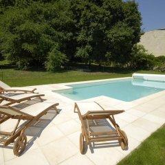 Отель Appartement Au ChÂteau Bouvet Ladubay Сомюр бассейн