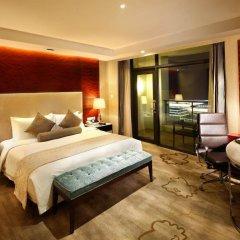 Hotel Nikko Xiamen 4* Улучшенный люкс с различными типами кроватей фото 2