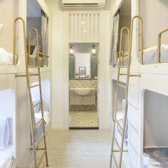 Golden Mountain Hostel Кровать в общем номере с двухъярусной кроватью фото 3