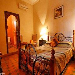 Отель Riad Les Cigognes Марокко, Марракеш - отзывы, цены и фото номеров - забронировать отель Riad Les Cigognes онлайн комната для гостей фото 2