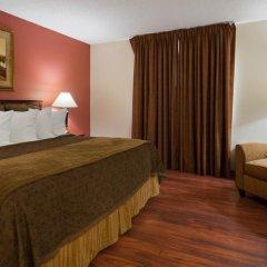 Отель Chicago Club Inn & Suites 3* Представительский люкс с различными типами кроватей фото 2