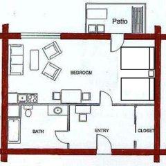 Отель Terracana Ranch Resort 2* Студия с различными типами кроватей фото 11