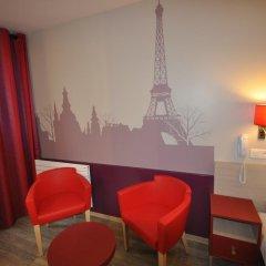 Grand Hotel de Turin 3* Стандартный номер разные типы кроватей фото 10