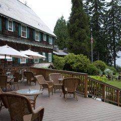 Отель Lake Quinault Lodge Куинолт питание