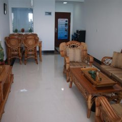 Апартаменты Duoleju Family Seaview Apartment Номер Делюкс с 2 отдельными кроватями фото 8