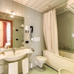 Отель MILANI Рим ванная