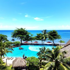 Отель Duplex Poerava by Tahiti Homes пляж