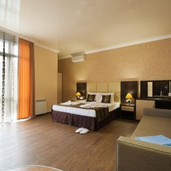 Гостиница Вавилон 3* Люкс с двуспальной кроватью фото 10