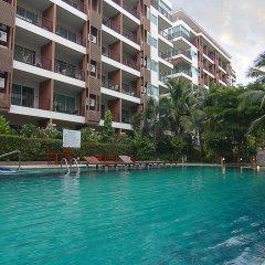 Отель Diamond Suite 2BR Apt in Thappraya Паттайя бассейн фото 2
