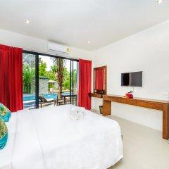 Отель Baan Phu Chalong 3* Улучшенный номер разные типы кроватей фото 3