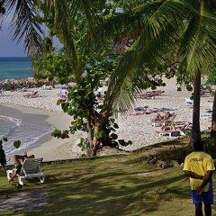 Апартаменты Carib Beach Apartments Negril пляж фото 2