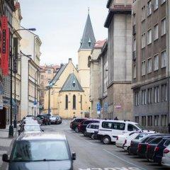 Отель My Mucha's Old Prague Gallery парковка