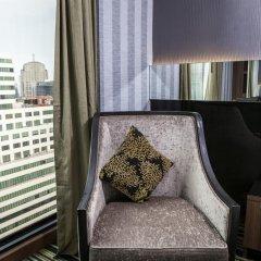 Отель The Continent Bangkok by Compass Hospitality 4* Стандартный номер с различными типами кроватей фото 42