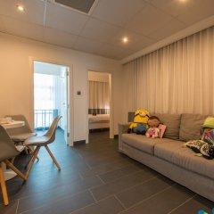 be.HOTEL 4* Стандартный семейный номер с двуспальной кроватью фото 3