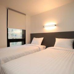 K-POP HOTEL Dongdaemun 2* Стандартный номер с 2 отдельными кроватями фото 5
