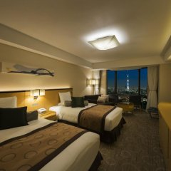 Asakusa View Hotel 4* Номер Делюкс с различными типами кроватей фото 2