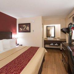 Отель Red Roof Inn PLUS+ Columbus-Ohio State University OSU 2* Стандартный номер с различными типами кроватей фото 2