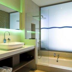 Отель ONE°15 Marina Club Singapore 4* Стандартный семейный номер с различными типами кроватей фото 4
