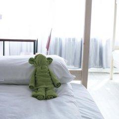 Хостел Bla Bla Hostel Rostov Кровать в женском общем номере с двухъярусной кроватью фото 4