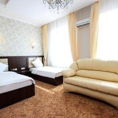 Гостиница Vision 3* Стандартный семейный номер с двуспальной кроватью фото 2