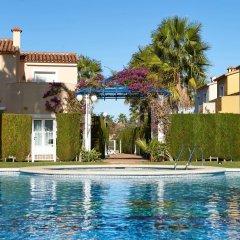 Отель Apartamentos Y Villas Oliva Nova Golf Олива бассейн фото 2