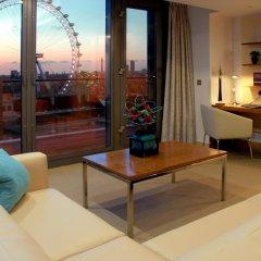 Отель Park Plaza County Hall London 4* Люкс с различными типами кроватей фото 4