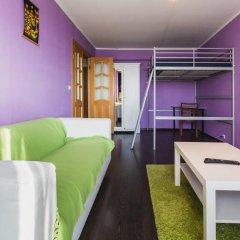 Апартаменты Apartment na Kozhuhovskoy Москва комната для гостей фото 2