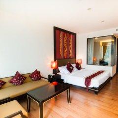 Отель Royal Thai Pavilion Hotel Таиланд, Паттайя - отзывы, цены и фото номеров - забронировать отель Royal Thai Pavilion Hotel онлайн комната для гостей фото 2