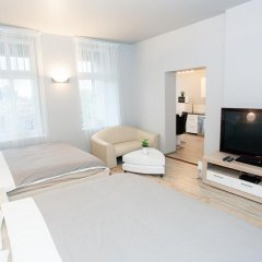 Апартаменты Studio Apartament Centrum Katowice Улучшенные апартаменты с различными типами кроватей фото 7