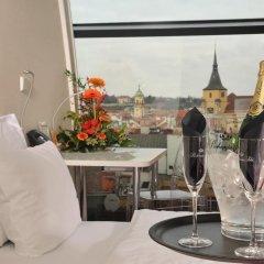 Design Metropol Hotel Prague 4* Улучшенный номер с различными типами кроватей фото 4